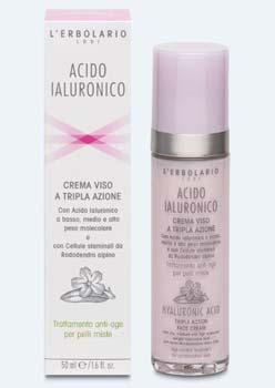 crema acido ialuronico-erbolario
